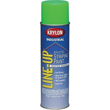 Krylon® Industrial Lineup Waterbased Athlet Fluorescent Green 17oz (K08315000)