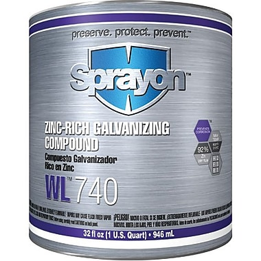Krylon Industrial Wl741 Zinc-Rich Galvanizing Compound 946 Ml (C74100000)