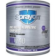 Krylon® Industrial Wl741 Zinc-Rich Galvanizing Compound 946 Ml (C74100000)
