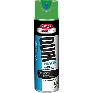 Krylon® Industrial Quikmark, Green Water Based Mark Paint 17oz (A03904)