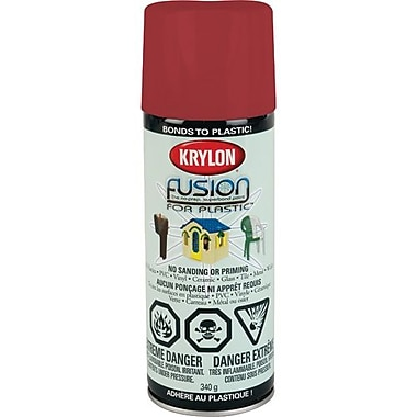 Krylon® Industrial Fusion for Plastic - Gloss Burgundy 12oz (424250001)