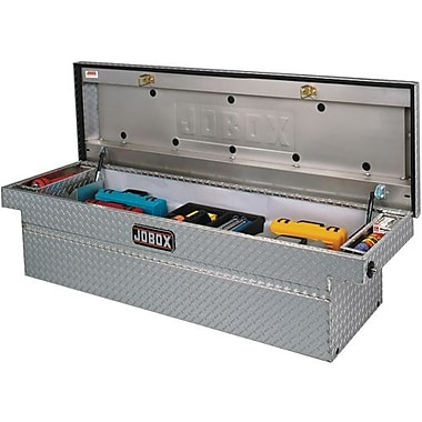 Jobox® Alum Single Lid Crossover Box Fullsize Deep&Wide (JAC1389980)
