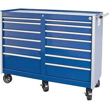 Aurora Tools® ATB400 Tool Cart, 13 Drawer, 55 7/16