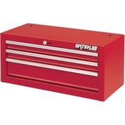 "Waterloo Industries 26"" 3 Drawer Intermediate, Red (SIN-263RD-F)"