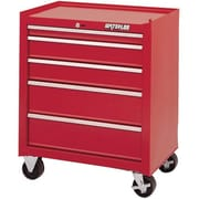 "Waterloo Industries 26"" 5 Drawer Cabinet (18"" Depth), Red (SCA-265RD-F)"