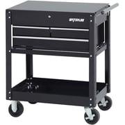 Waterloo Industries 3 Drawer Utility Cart, Black (SP-UC3BK)