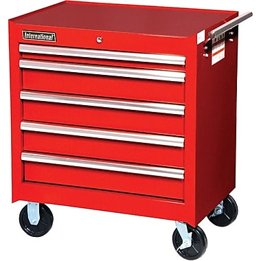 Aurora Tools® ATB300 Tool Cart, 5 Drawer, 27