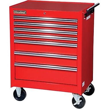 Aurora Tools® ATB300 Tool Cart, 7 Drawer, 27