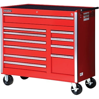 Aurora Tools® ATB300 Tool Cart, 11 Drawer, 42