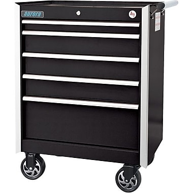 Aurora Tools® ATB400 Tool Cart, 5 Drawer, 29