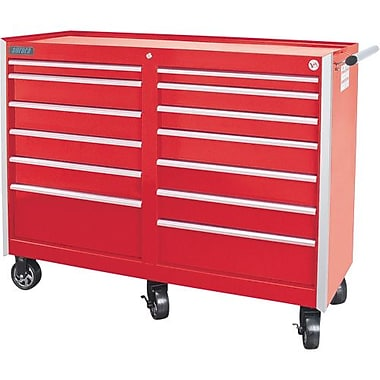 Aurora Tools® ATB400 Tool Cart, 13 Drawer, 55-7/16