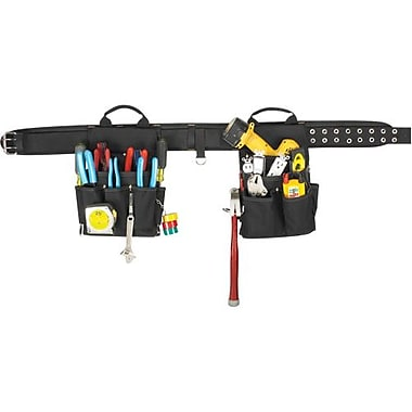 Kuny's™ Leather 20 Pocket - 3 Piece Electrician Combo (EL1609)