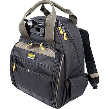 Kuny's™ Leather Tech Gear 53 Pocket - Lighted Backpack (L255)