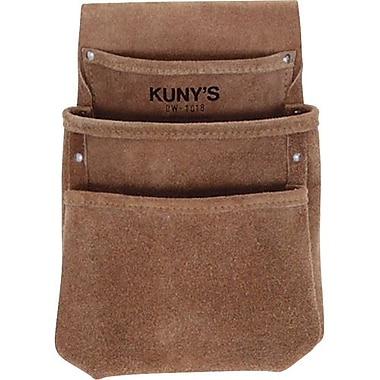 Kuny's™ Leather Drywall Pouch (DW-1018)
