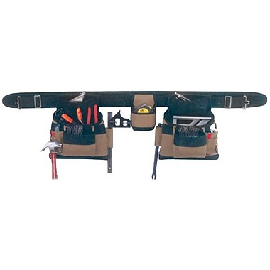 Kuny's™ Leather Apron Combo Nylon 4 Piece 17 Pocket (AP-1604)