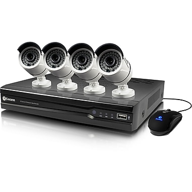 Swann 8 Channel NVR Security System With 4 Full HD Cameras (SWNVK-874004)