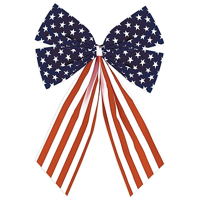 Amscan Flocked Bow, 10