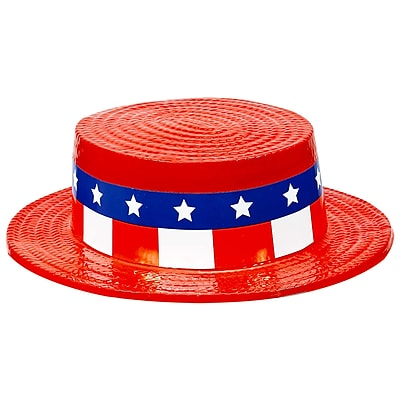 Amscan Skimmer Hat, 3