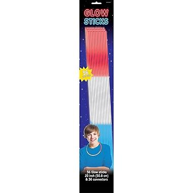 Amscan Tri Color Glow Sticks, 20
