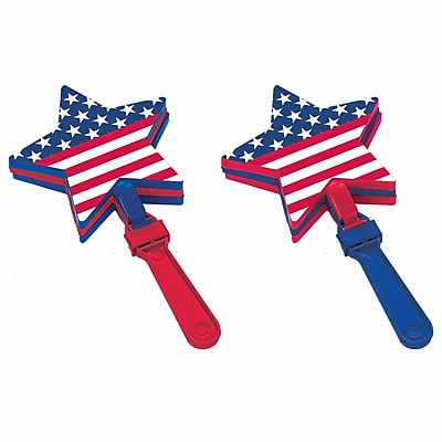 Amscan Star Shaped Hand Clappers, 7
