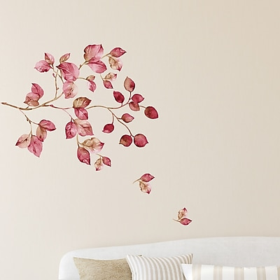 WallPops! Home Decor Line Pink Watercolor Wall Decal