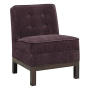 Donny Osmond Slipper Chair; Purple