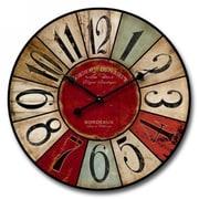 Nora Lane Shabby Elegance 24'' Wall Clock