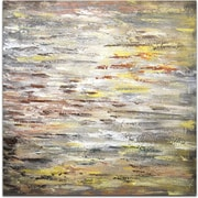 Omax Decor Glimpse of Sunshine in the Sky Painting on Canvas
