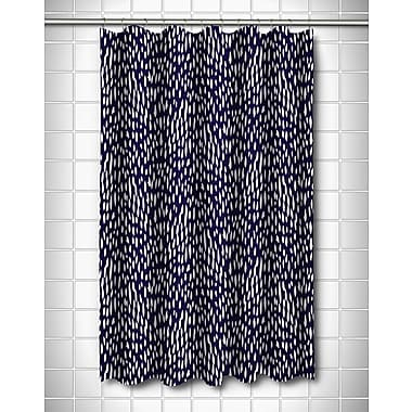 Island Girl Home Hipster Shower Curtain; Navy