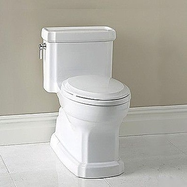 Toto Guinevere 1.28 GPF Elongated One-Piece Toilet; Cotton