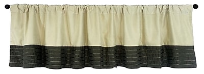 Edie Inc. Grotto Reversible Faux Suede Curtain Valance
