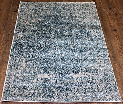 Rug Factory Plus Fusion Hand-Tufted Blue Area Rug
