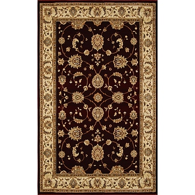 Home Dynamix Triumph Red Area Rug; Rectangle 5'2'' x 7'6''