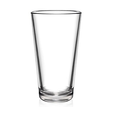BarLuxe The Pint Unbreakable 16 oz. Pint Glasses (Set of 6)