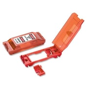 Master Lock Wall Switch Cover/Lockout, Red