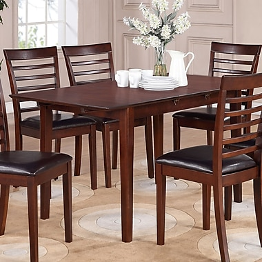 Wooden Importers Picasso Dining Table; Mahogany