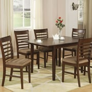 East West Milan Dining Table; Mahogany