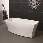 Aquatica Elise 67'' x 31.5'' Soaking Bathtub