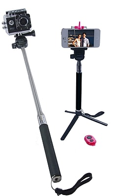Zuma Selfie Stick GoPro, Digital Cameras Smartphone Holder Selfie Stick (Z-128)