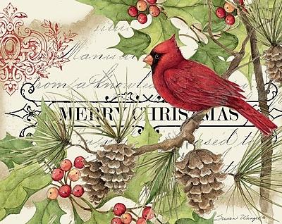 LANG Christmas Cardinal Art Insert (3113003)