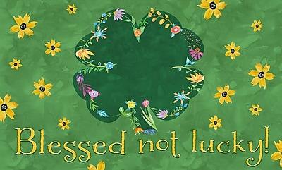 LANG Blessed Not Lucky Door Mat (3210076)