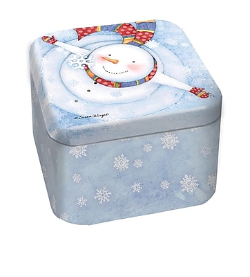 LANG Snowflakes 9 oz Tin Candle (3102006)