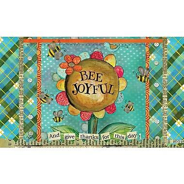 LANG Bee Joyful Door Mat (3210075)