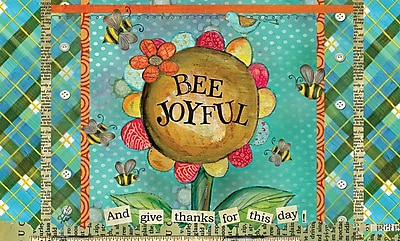 LANG Bee Joyful Door Mat (3210075)