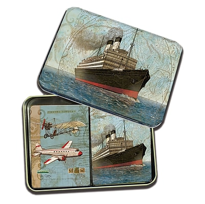 LANG Vintage Travel Tin Playing Cards (2179008)