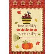 LANG Falling Leaves Mini Outdoor Flag (1700078)