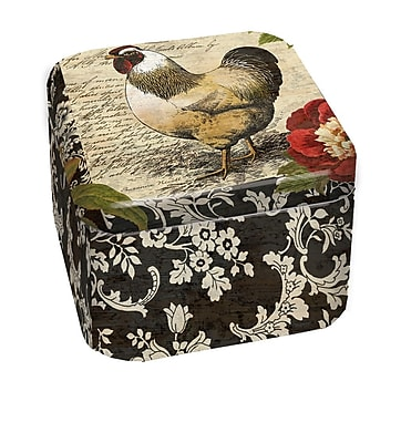 LANG French Rooster 9 oz Tin Candle (3102004)