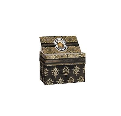 LANG Honey & Grey Recipe Card Box (2011090)