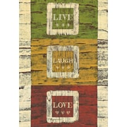 LANG Live Laugh Love Large Outdoor Flag (1710090)