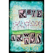 LANG Love Always Mini Outdoor Flag (1700093)